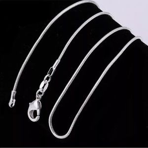 Jewelry - 925 Sterling Silver Snake Chain